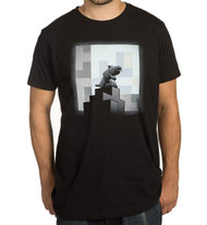 Minecraft One Wolf Moon Premium Adult T-Shirt