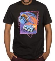 Rocket League Neon Cover Premium Adult T-Shirt