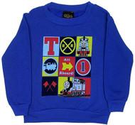 Nine Blocks - Thomas The Tank Engine Juvenile And Toddler Sweatshirt