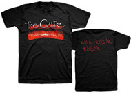 The Cure Kiss Me Adult T-Shirt