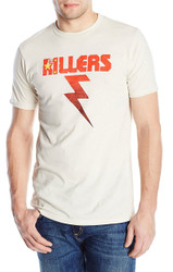 The Killers - China Flag Bolt Adult T-Shirt