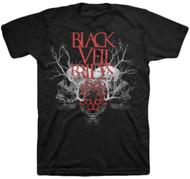 Black Veil Brides - Branches Skull Adult T-Shirt