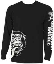 Gas Monkey Garage - Angled Monkey Face Adult Long Sleeve T-Shirt