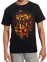 Slipknot Radio Fire Adult T-Shirt