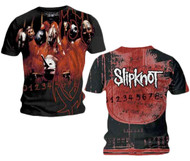 Slipknot Debut Allover Adult T-Shirt