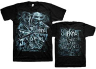 Slipknot Broken Glass Adult T-Shirt