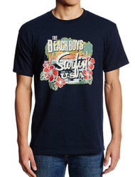 The Beach Boys - Surfin USA Tropical Adult T-Shirt