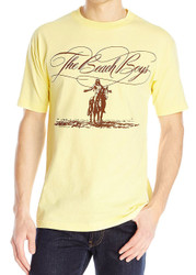 The Beach Boys - Script Logo Horse Adult T-Shirt