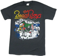The Beach Boys Live Drawing Distressed Adult T-Shirt