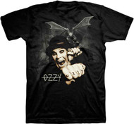 Ozzy Osbourne - Gargoyle Bat Fright Adult T-Shirt