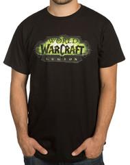 World Of Warcraft: Legion Logo Premium Cotton Adult T-Shirt