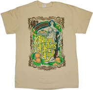 The Allman Brothers Band 40th Anniversary Angel Band Adult T-Shirt