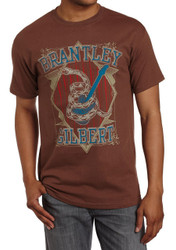 Brantley Gilbert Snake Coil Guitar Adult T-Shirt