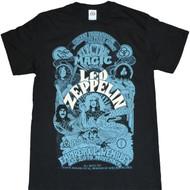 Led Zeppelin Magic Poster Adult T-Shirt