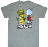 Mystery Science Theater 3000 - MST3K Chibi Robots Adult T-Shirt