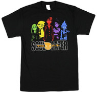 Soul Eater Color Characters Adult T-Shirt