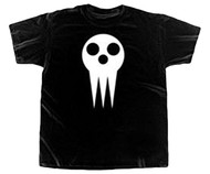 Soul Eater Skull Mask Adult T-Shirt