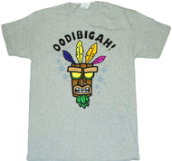 Crash Bandicoot Oodibigah Adult T-Shirt