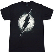 DC Comics Chalk Flash Logo Adult T-Shirt