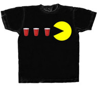 Pac-Man Red Cup Power Up Adult T-Shirt