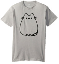 Pusheen Front and Back Adult T-Shirt