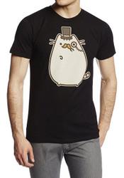 Pusheen Mustache Adult T-Shirt