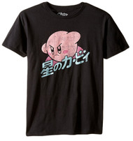 Kirby In Action Adult T-Shirt