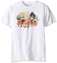 One Punch Man Whole Gang Adult T-Shirt