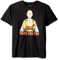 One Punch Man Hero For Fun Adult T-Shirt