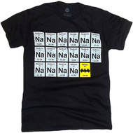Batman Sodium Chart NA-NA-NA-NA Adult T-Shirt