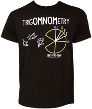 Pac-Man TrigOMNOMetry Adult T-Shirt
