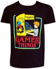 Pac-Man Gamer Things Adult T-Shirt