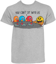 Pac-Man Sit With Us Adult T-Shirt