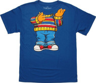 Sesame Street Ernie Body Adult T-Shirt