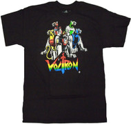 Voltron Five Cats Adult T-Shirt