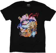 Dragon Ball Fighter Z Gotenks vs Buu Image Adult T-Shirt