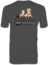 Boruto - Naruto & Boruto Adult T-Shirt