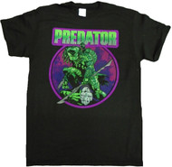 Predator Comic Bright Adult T-Shirt