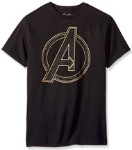 Marvel Avenger Assemble Outer Logo Adult T-Shirt