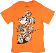 Disney Mickey Mouse Wrapper Mickey Mummy Youth T-Shirt