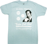 Breaking Bad - Better Call Saul Attorney At Law Adult T-Shirt