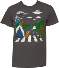 Adventure Time - Land Of 000 Landscape Adult T-Shirt