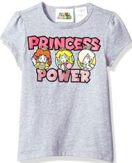 Nintendo Super Mario Princess Power Girls T-Shirt