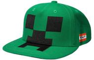 Minecraft Creeper Mob Snapback Baseball Hat