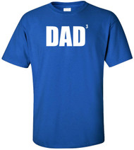 DAD 3 (Father Of 3) Adult T-Shirt