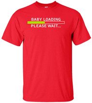 Baby Loading Please Wait Adult T-Shirt