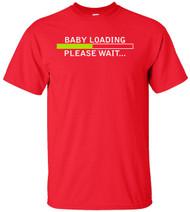 Baby Loading Please Wait Adult T-Shirt