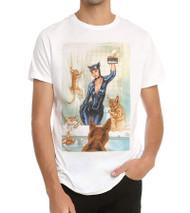 DC Comics Catwoman Selfie Comic Adult T-Shirt
