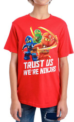 Lego Ninjago - Trust Us We're Ninjas Youth T-Shirt