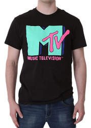 MTV Cyan Adult T-Shirt